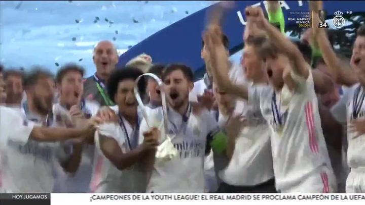 El Real Madrid de Raúl, campeón de la UEFA Youth League