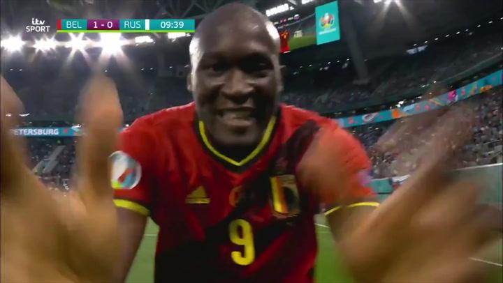 'Chris, Chris…I love you': Romelu Lukaku dedicates Euro 2020 goal to Inter Milan teammate