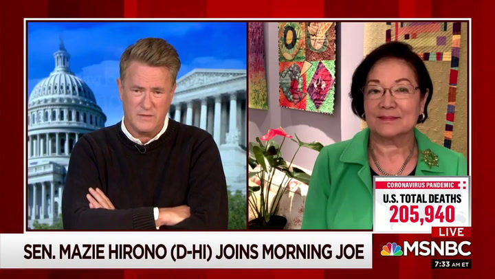 Hirono: ACB's Religion 'Immaterial' -- Issue Is Whether She Can Separate Views on Abortion, LGBTQ Rights