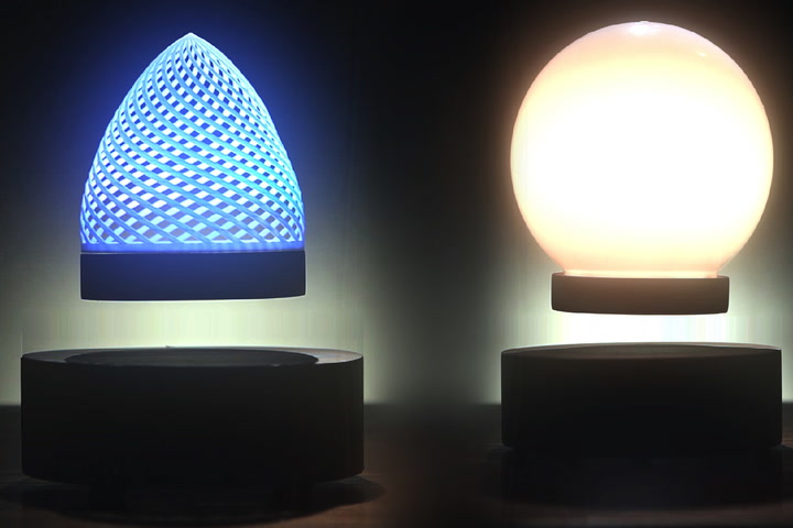 Led night light kickstarter - Levitating Color Changing Lamp Will Brighten Your Day