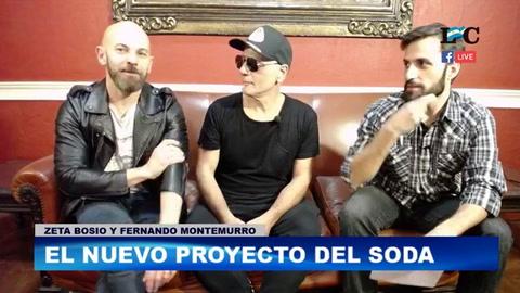 Zeta recordó a Cerati, habló de Soda Stereo y de su nuevo trabajo