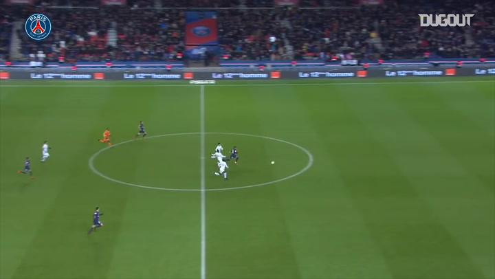 Mbappé's incredible sprint to score vs Lille