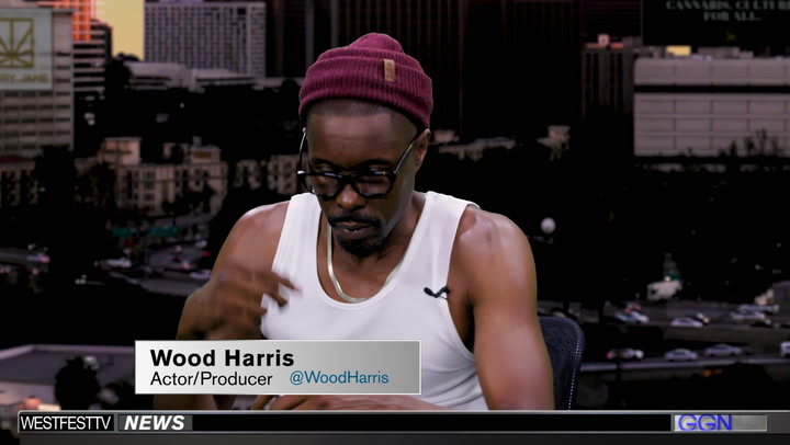 "Wood Harris Goes Inside the Smoker's Studio on ""GGN"""