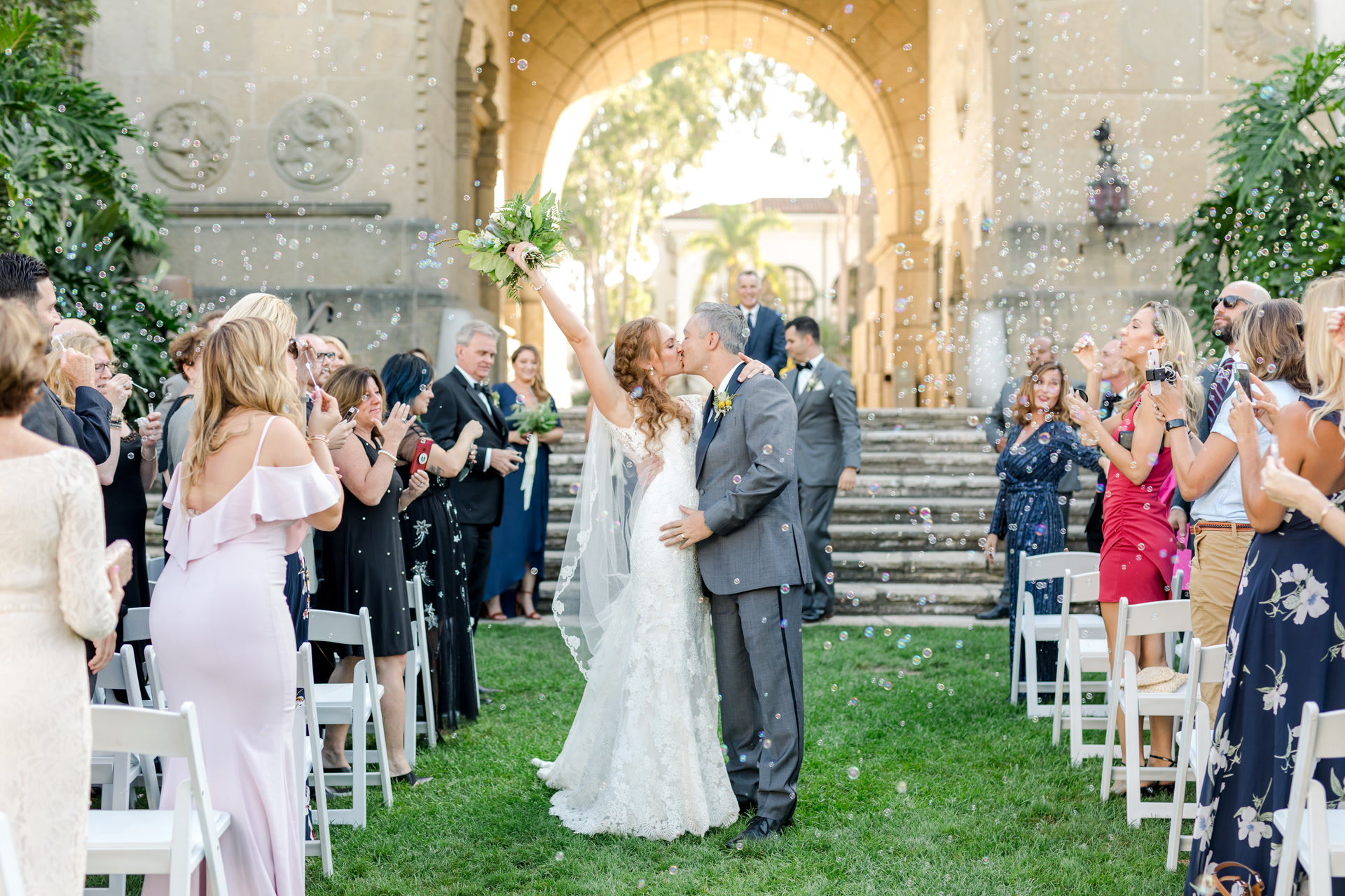 Chrissy Kuligowski + Johnny Gedstad | Santa Barbara, California | Santa Barbara Courthouse