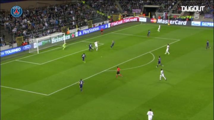 Golaços de letra do Paris Saint-Germain