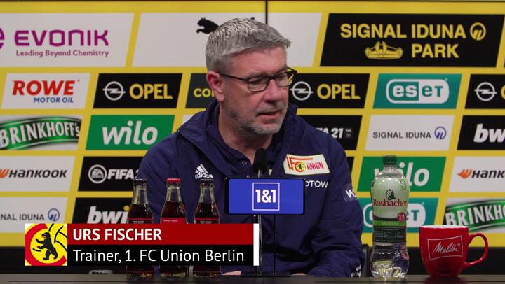 """Union-Coach Fischer: """"Wir hatten unsere Momente"""""""