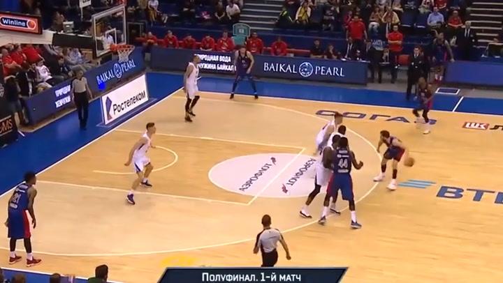 Así juega Cory Higgins, jugador del CSKA
