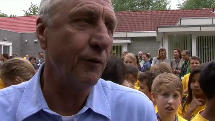 Video: Johan Cruijff heeft longkanker