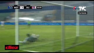 Motagua toma una leve ventaja en la final de liguilla ante Olimpia en un juego accidentado