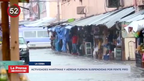 Suspenden actividades marítimas y aéreas en La Ceiba y otras noticias