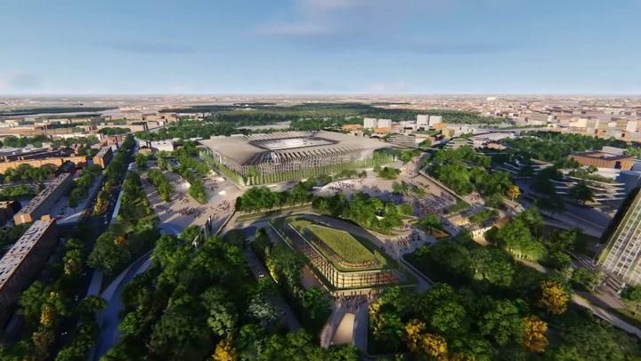 El proyecto para el nuevo San Siro de Populous Project