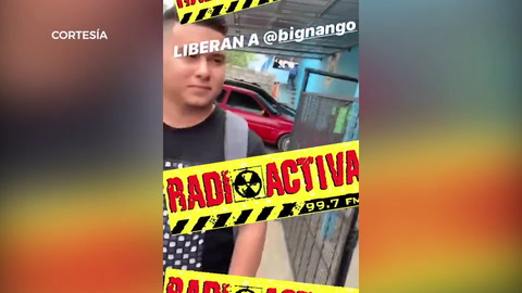 Liberan a Big Nango, acusado de posición de drogas