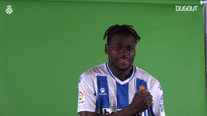 Nany Dimata's first day at Espanyol