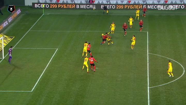 Best goals of week 18 in the Russian Premier League