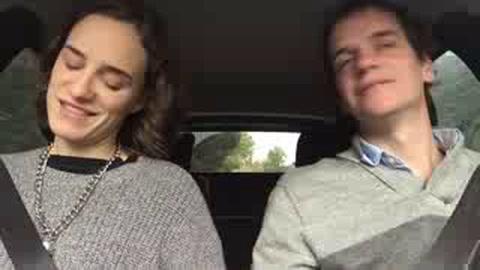 Se hizo viral el video con la discusión de una pareja por el Mundial