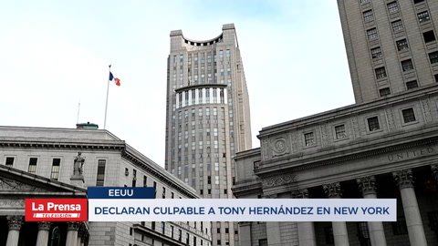 Declaran Culpable A Tony Hernández En New York