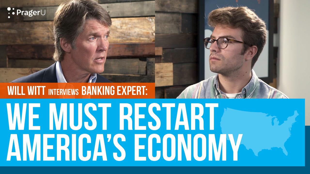 We Must Restart America's Economy