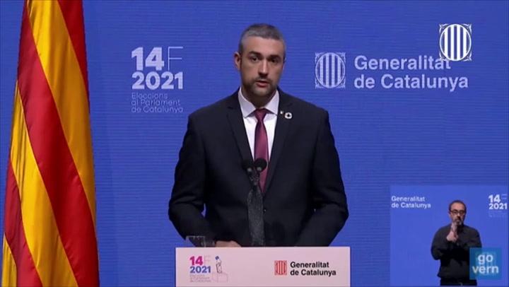 Elecciones en Catalunya: La participación se desploma al 53,48%, 25 puntos menos que en 2017
