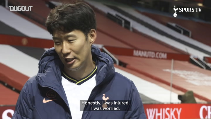 Heung-Min Son on Old Trafford victory and Kane partnership