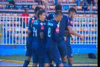 Motagua derrota al Honduras, se pone tercero y ahora piensa en Tauro