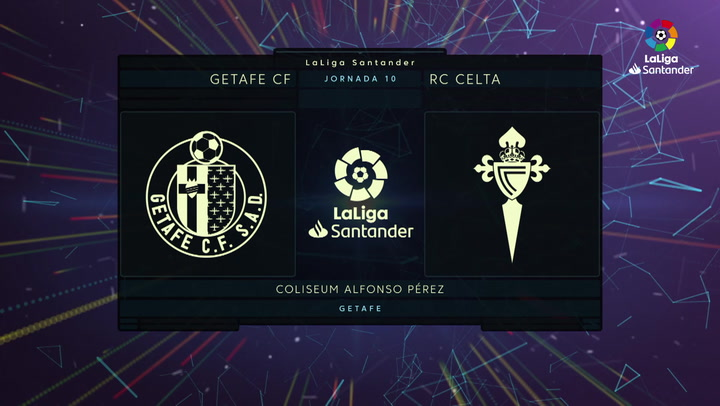 LaLiga Santander (Jornada 10): Getafe 0-3 Celta