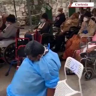 La triste realidad que viven los pacientes de covid-19 en la capital