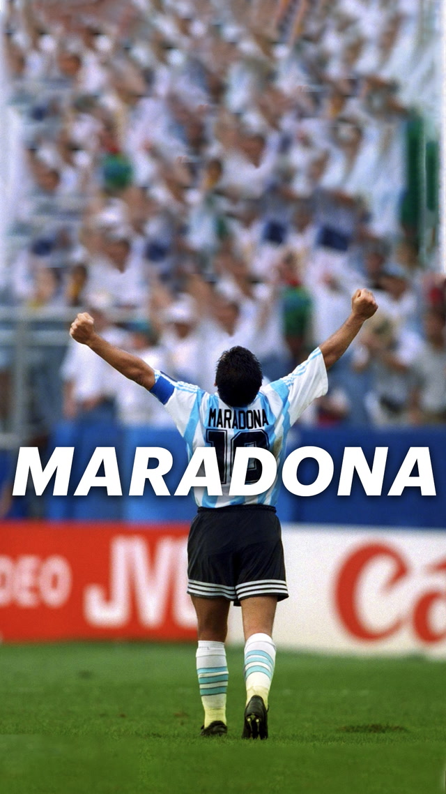 Asrın futbolcusu Maradona #trendtopic