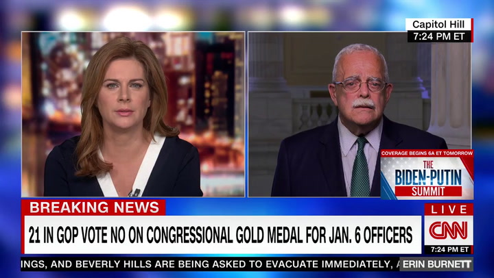 Connolly: GOP Who Voted Against Awarding Medals to Police 'Part of the Insurrectionist Mob'