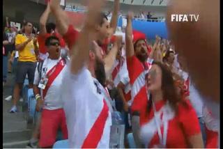 El Premio a la Afición de la FIFA es para ¡los aficionados de Perú!