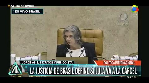 La Corte Suprema de Brasil rechazó el hábeas corpus de Lula y autorizó su detención