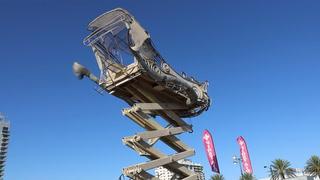 BalanceVille Art Car Rides High Above First Friday