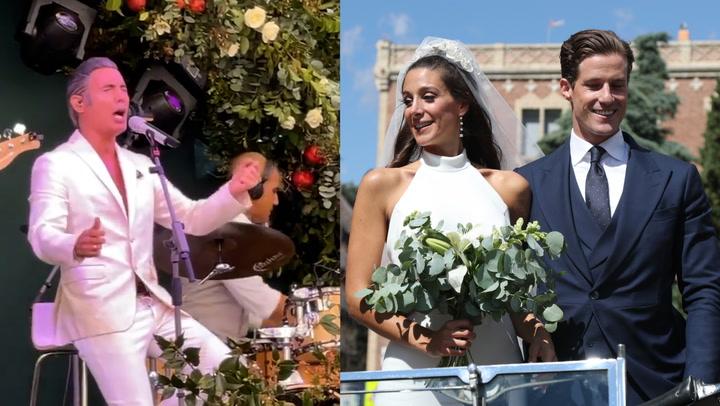 El \'Ave María\' de Pitingo, la emoción de Fran Rivera... todos los detalles de la boda de la nieta de Jesús Gil