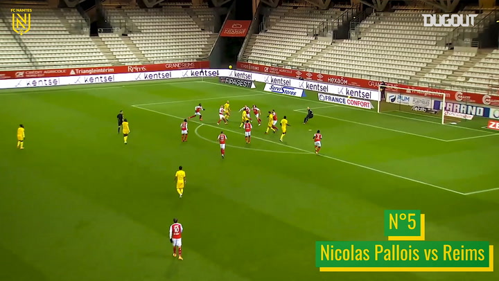 FC Nantes' best goals of 2020