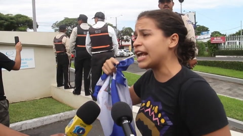 Amaya Coppens, la estudiante belga que enfrenta al gobierno de Ortega