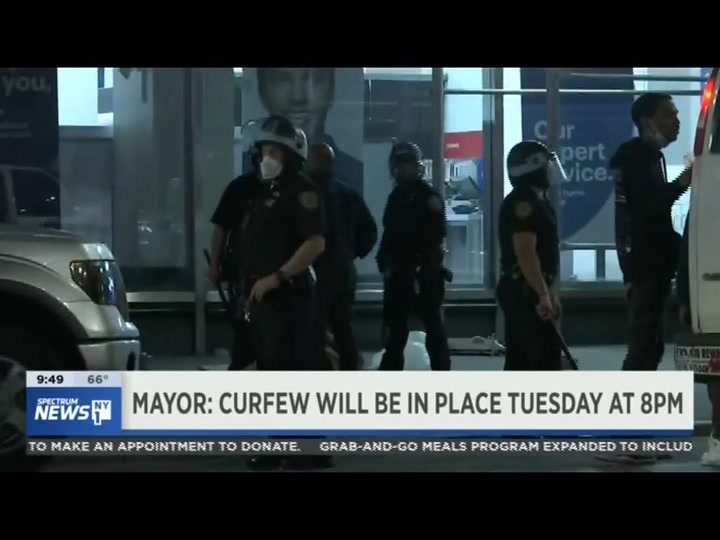 De Blasio: NYC 'Fully Under Control and Overwhelmingly Calm and Peaceful' - Extends Tuesday Curfew to 8 P.M.