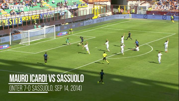 Hat-Trick Heroes: Icardi Vs Sassuolo