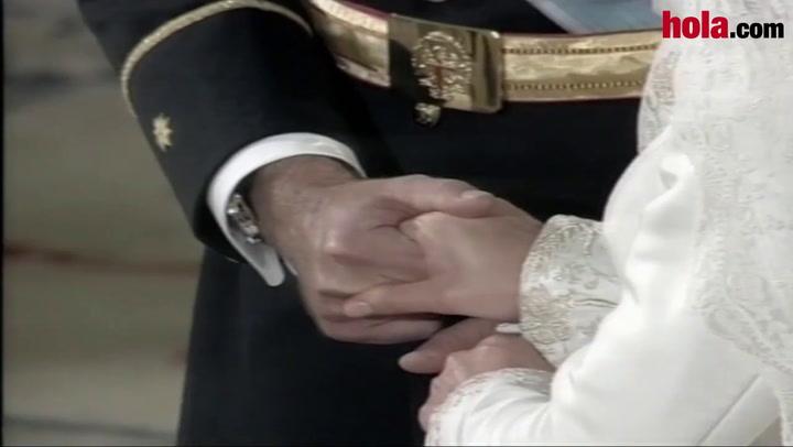 Las imágenes del inolvidable \'sí, quiero\' de los Príncipes de Asturias