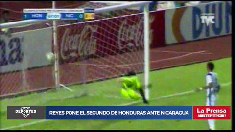 ¡Alejandro Reyes pone el segundo de Honduras ante Nicaragua!