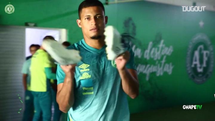 Chapecoense last training session before Náutico clash