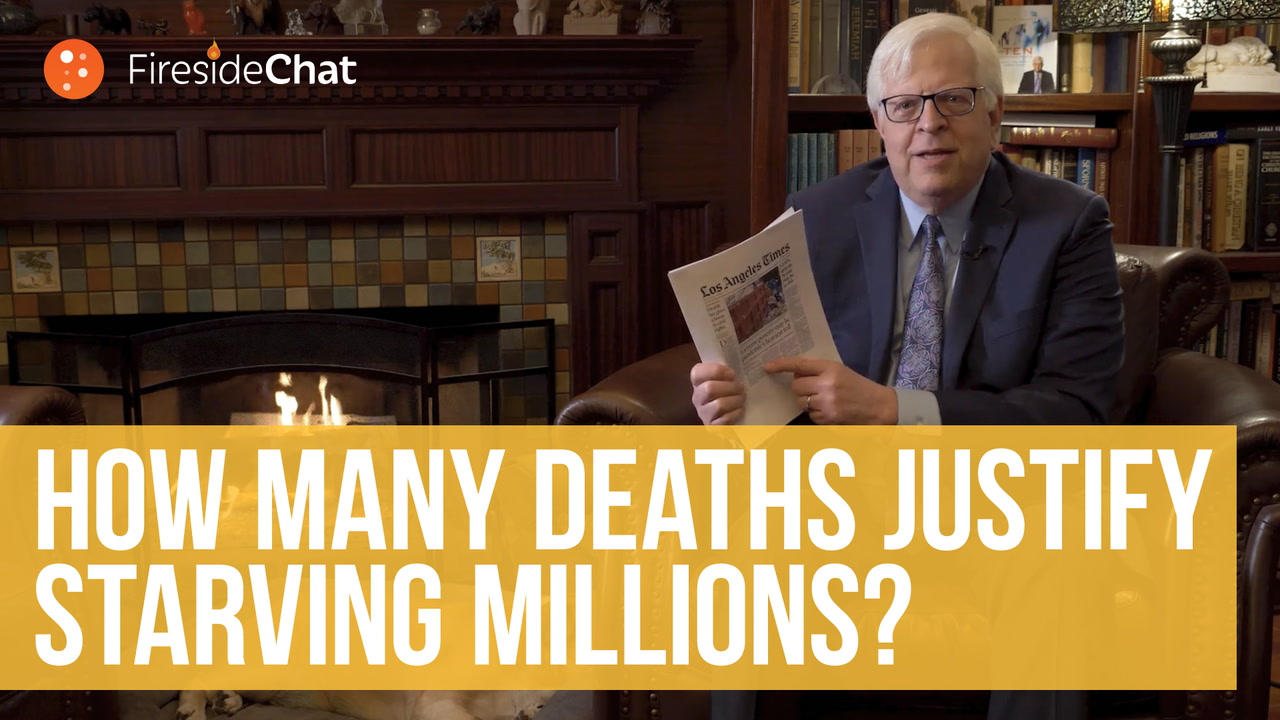 How Many Deaths Justify Starving Millions?