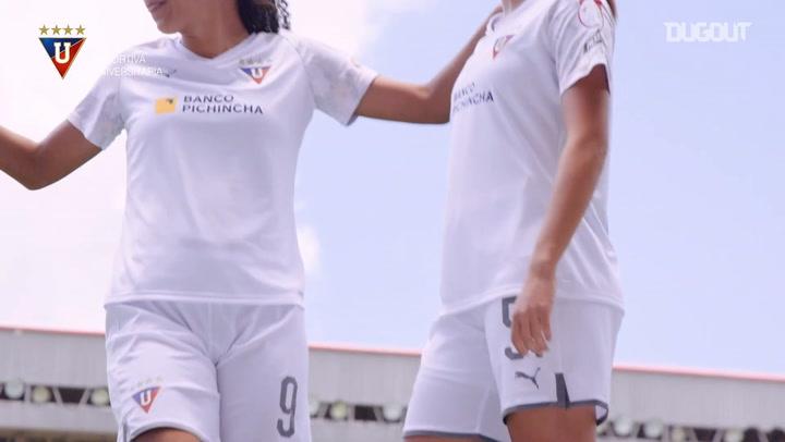 LDU Femenino presenta su nueva equipación