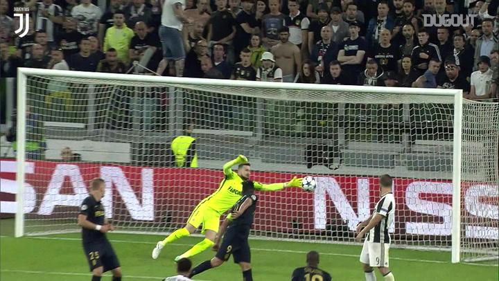 Dani Alves' Champions League semi-final goal vs Monaco