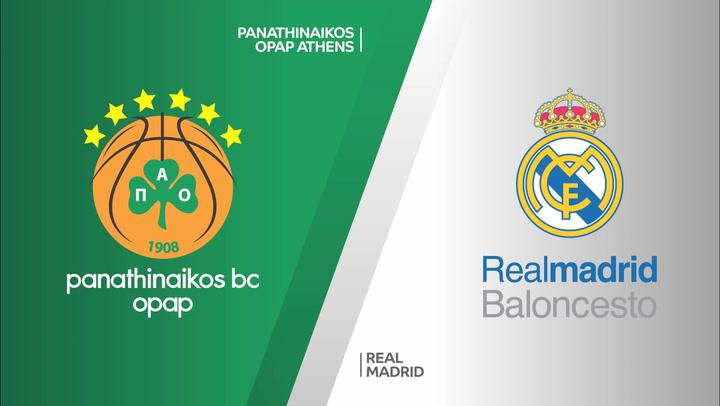 El resumen del Panathinaikos - Real Madrid (75-87)