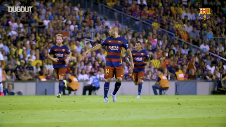 Javier Mascherano's Greatest Barça Moments
