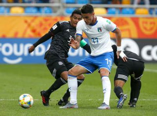 México e Italia están empatando en el Mundial Sub-20 de Polonia