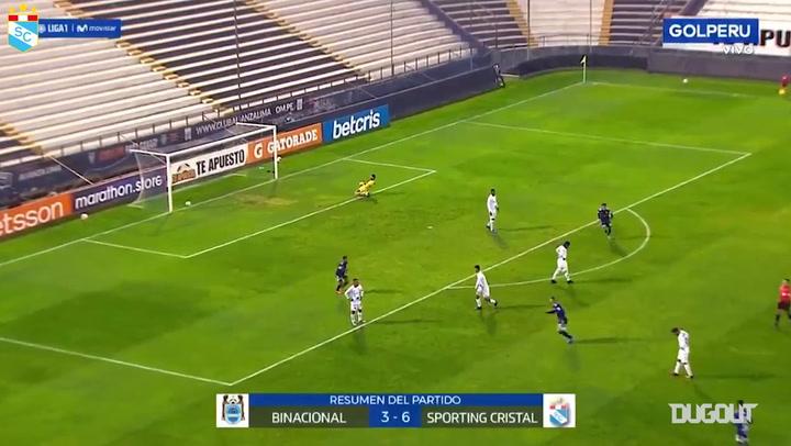 El hat-trick de Emanuel Herrera ante Binacional