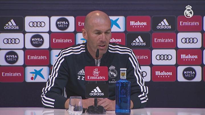 """Zidane: """"Pogba me gusta mucho, si algún día deja el United..."""""""