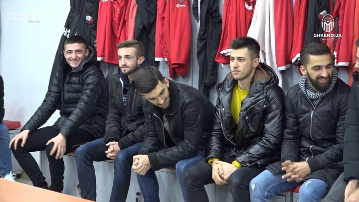 Shkendija Return From Winter Break