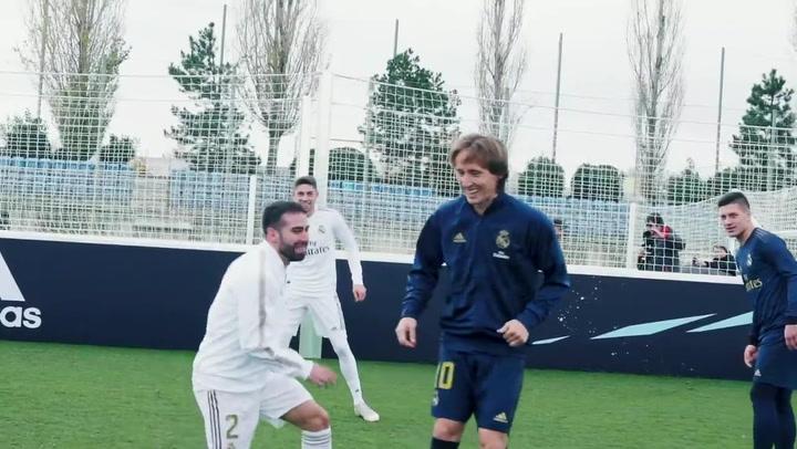 Modric, Vinicius Jr. y compañía explican sus sensaciones al jugar al FIFA 20 VOLTA pitch