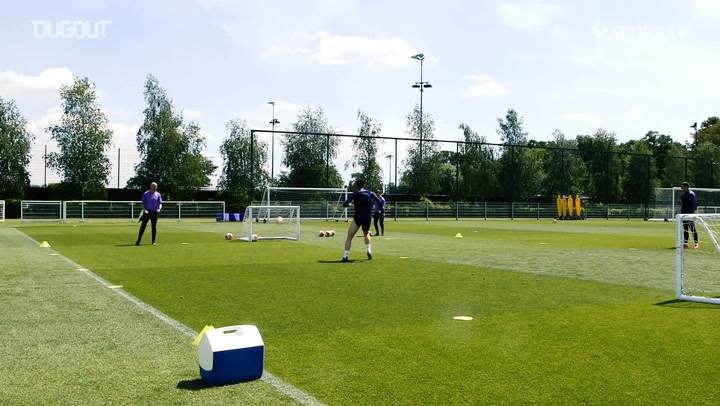 Tottenham Hotspur Antrenmanlara Başladı
